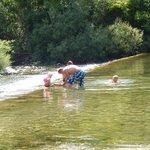 baignade au camping