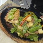 pescado ala plancha con verduras