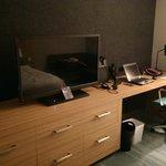Desk & TV (Rm. 211)