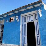 L'entrata della Casa Damarys
