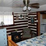 Interior of Cabin 14
