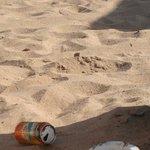 La spiaggia alle 10 del mattino