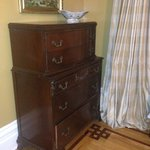 Chest of drawers in the DuPont Suite.