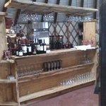Yurt Interior - Service Bar