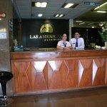 RECEPCION HOTEL LAS AMERICAS