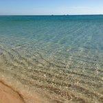crystal clear sea