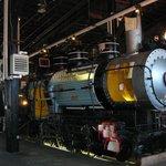 Steamtown cutaway locomotive