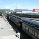 Steamtown train ready for departure