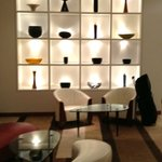 Modern Lounge off the Lobby