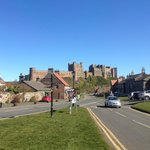 Bamburgh Village from The Grove