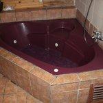 Schmutzige Badewanne