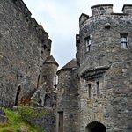Interior del castillo de Eilean Donan