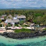 La Maison d'été vue du Ciel à Poste Lafayette Ile Maurice