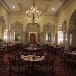One of the formal dining room (dress code)