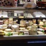 Cheese counter @ The Wenlock Deli