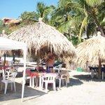 Playa Madera palapa