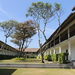 l'hôtel très beau style Sri Lankais