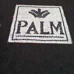 entrée du palm