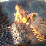 Pure smaken van de Monolith BBQ