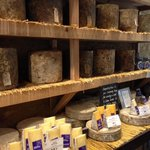 cheese room, great smell