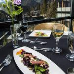 Fine Dining in Three Ravens Restaurant