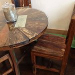 reclaimed wood seating