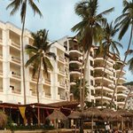 Emperador Hotel view from our Beach