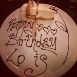special birthday pudding plate