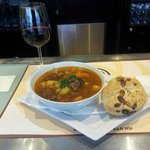 Goulash Soup in the hotel restaurant; amazing and cheap