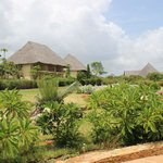 the hotel bungalows