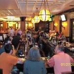 Patrons enjoy tapas at Vergina's bar before the NJO concert