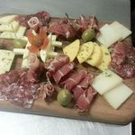 meat and cheese deli trays available to go our to enjoy in house