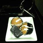 Turndown service with wonderful mini-muffins