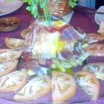 Super Plato Jaraqueño, para compartir. Meson El Toston. Calle Calañas 3 , Huelva