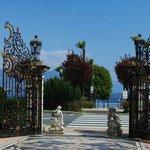 Grand Hotel Des Iles Borromees - входные ворота