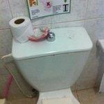 WC del baño de la habitacion