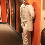 John Wilkes Booth lies in wait