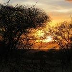 Sunset on the Isoitok Camp