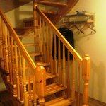 лестница в полулюксе
