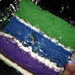 Yummy and pretty cake