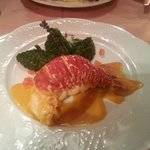 Lobster with Champagne sauce