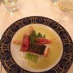 My main course-filetto di cernia.