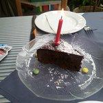 Birthday Sacher Cake- very tasty