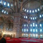 İstanbul fatih Camii Yarım Kubbeler 01.01.2014
