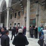İstanbul Eyüp sultan camii 01.01.2014