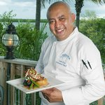 Chef Juan with the NEW Snapper dish, you gotta try this!