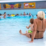 A relaxing family day while avoiding the crowds in Splash Lagoon