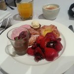 Excellent breakfast and  it appear the chef has a love for chia!!!