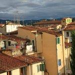 Флоренция из окна 1