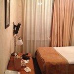 O minúsculo quarto individual